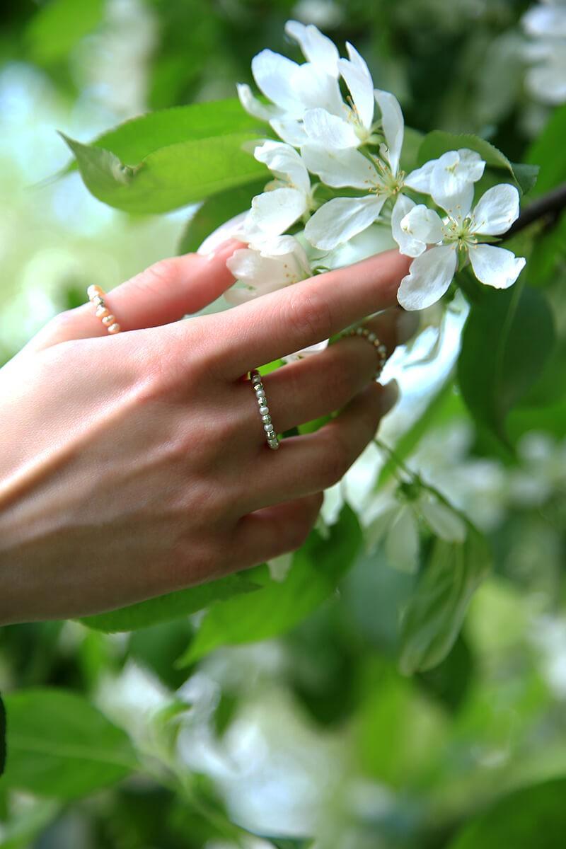 Кольцо Pearl&Silver_10