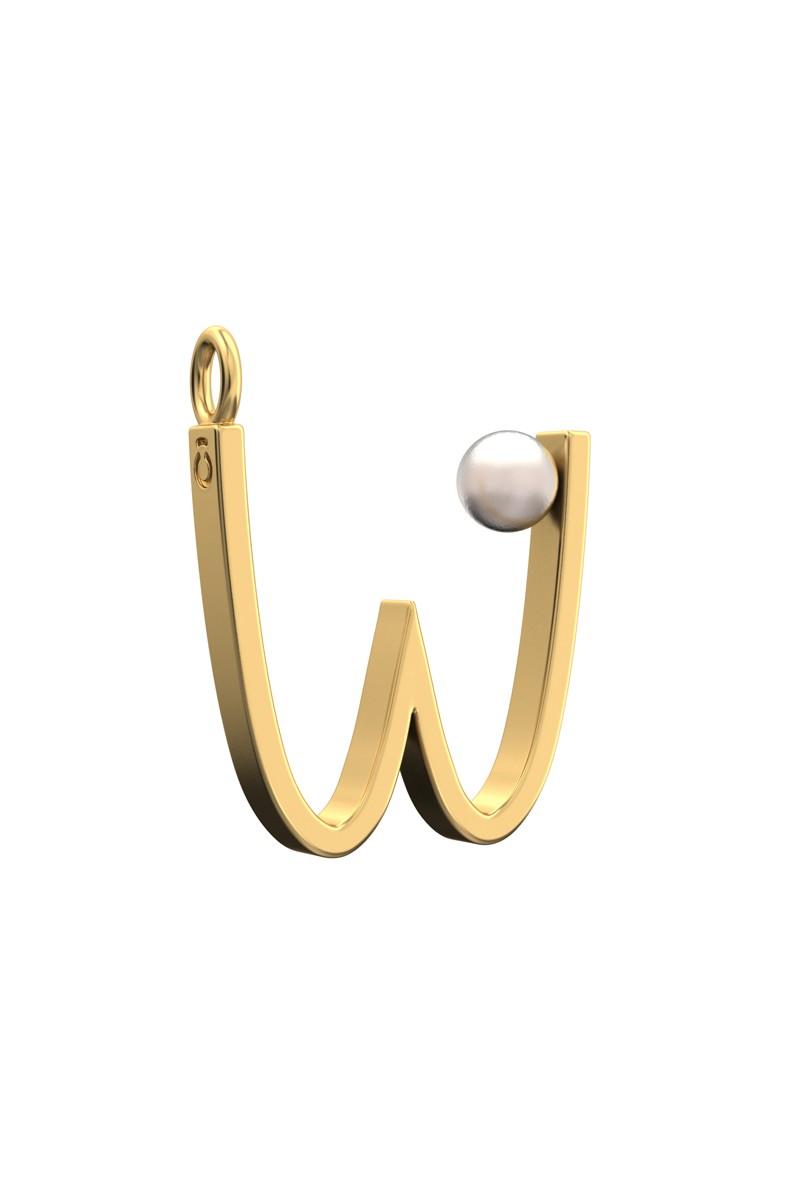 Подвеска-буква W_12