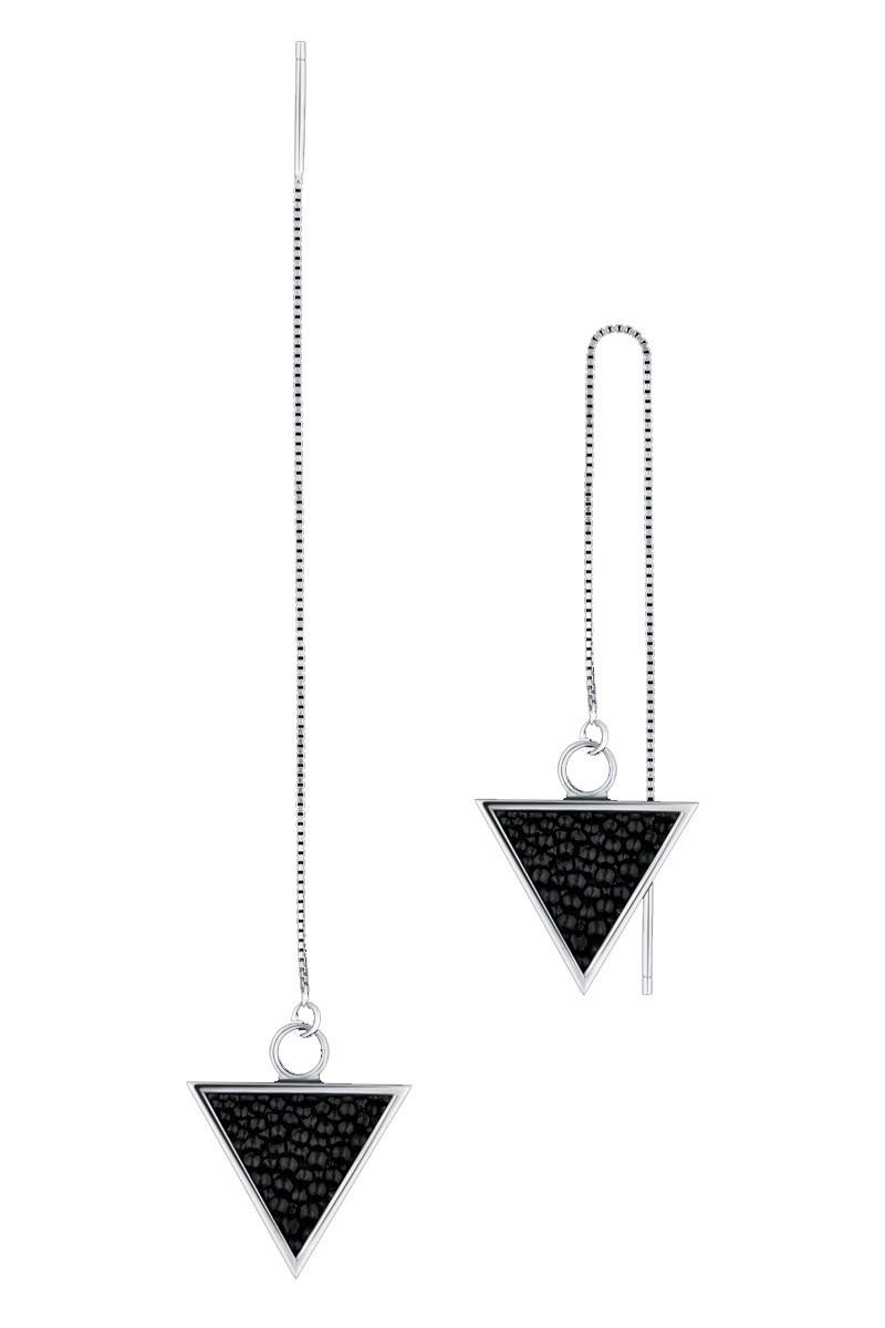 Серьга-треугольник LONG_10
