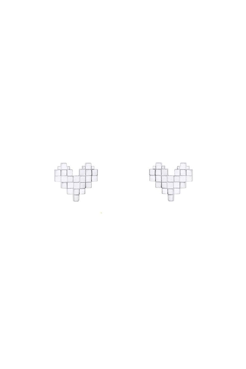 Серьги-гвоздики Пиксели_1