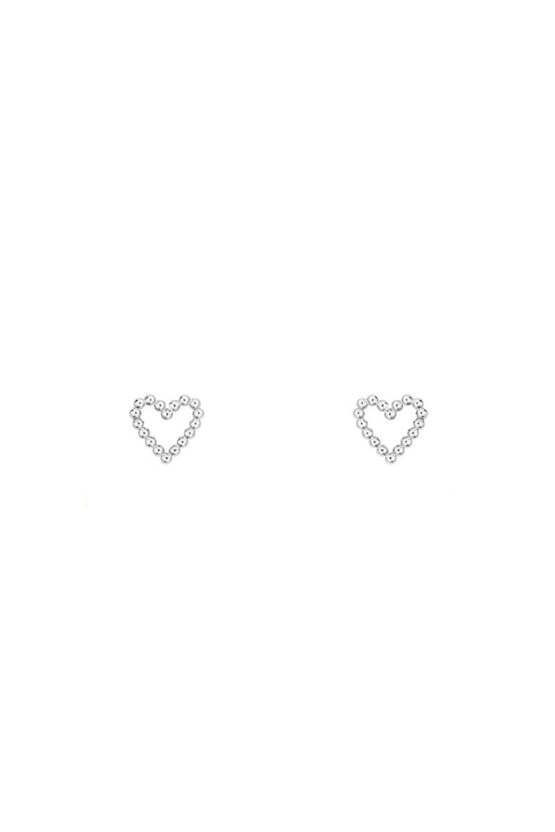 Пусеты Dotted Heart_1